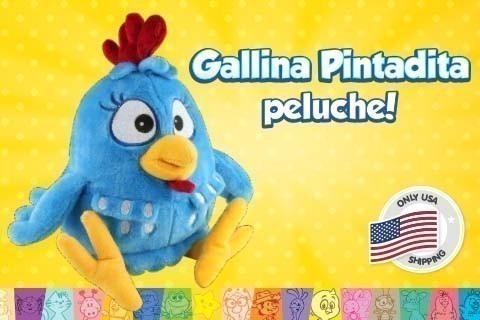 Gallina Pintadita Peluche: sólo EUA