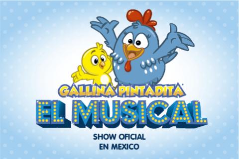 Gallina Pintadita - El Musical - México